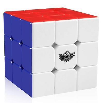 56mm Magic Cube 3x3x3 Stickerless Speed Puzzle Cube School & Office Toy