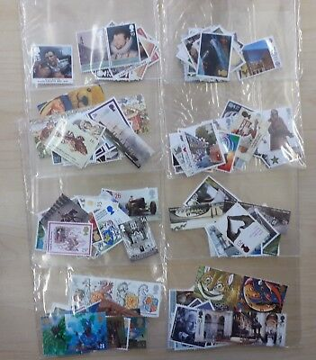 £80 mint Great Britain stamps for postage (13p - £1.28) full gum @75% face value