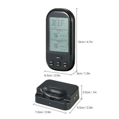 Cooking Thermometer Oven Waterproof Remote BBQ Kitchen Wireless Grill Fashion
