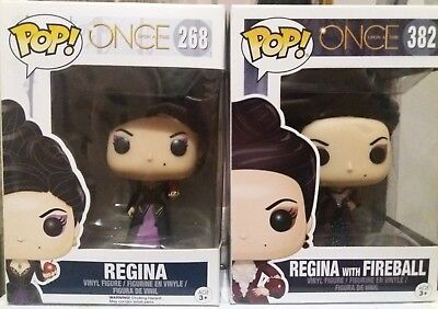 2 funko pop regina once upon a time