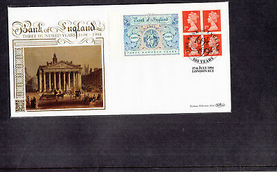 1994 Bank Of England Benham Gold First Day Cover