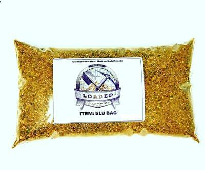 Gold Paydirt 5 lbs Unsearched and Guaranteed Added GOLD! Panning