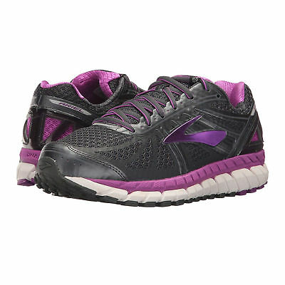 7f04595b8fb New Womens Brooks Ariel 16 Running Shoes Anthracite Purple Cactus Retail   160