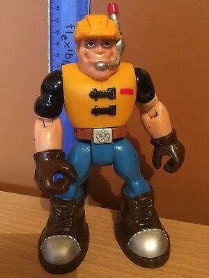 Rescue Heroes Jack Hammer Construction Action Figure Mattel Fisher Price 78303