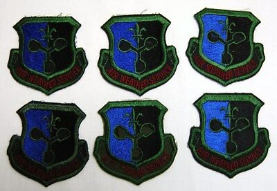 1822c32e44f Lot of 6 Military Patches Army Navy US Air Force Army Navy Air Weather  Service