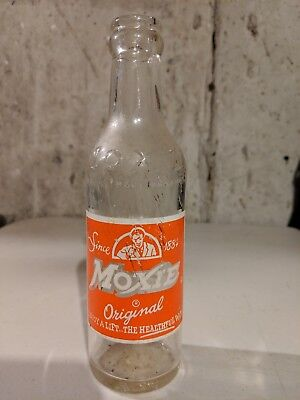 Vintage Moxie 7oz Soda Bottle  Boston, Mass