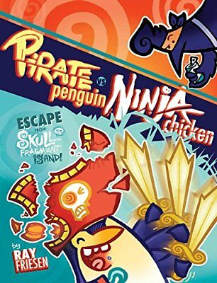 Pirate Penguin vs Ninja Chicken Volume 2: Escape From Skull-Fragment Island! New