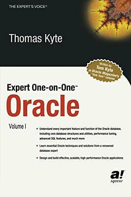 Expert One-on-One Oracle (The Expert's Voice) by Kyte, Thomas Paperback Book The