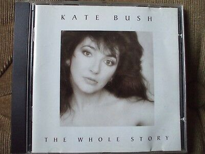 Kate Bush - The Whole Story CD.Cloudbusting,Breathing,Sat In Your Lap,Babooshka.
