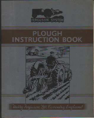 Ferguson Disc Plough Instruction Book ................................ Other Manual