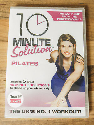 10 Minute Solution Pilates Exercise DVD NEW Workout