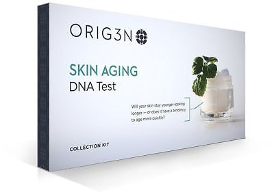 ORIG3N Genetic Home Mini DNA Test Kit, Skin Aging NEW