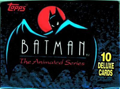 1993 Topps Batman The Animated Series Series 1 Trading Card Pack