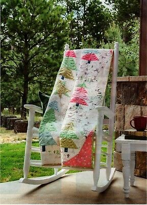 Winter Forest Quilt Pattern Pieced/Paper Pieced DP