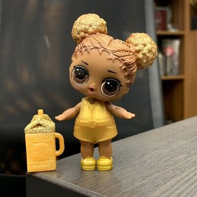 LOL Surprise Doll  SERIES Ball Ultra Rare QUEEN BEE 95% New HTF GLITTER 1 2 3
