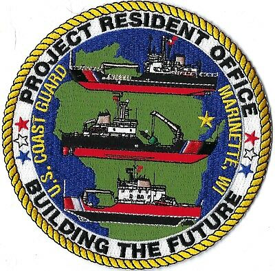 Us Coast Guard Project Resident Office Building The Future Patch