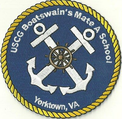 Us Coast Guard Boatswain's Mate A School Patch