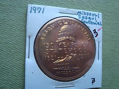 Vintage 1971 Missouri Sesqui Centennial 150 Years Of Statehood Missouri