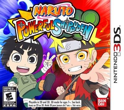Naruto Powerful Shippuden - Nintendo 3DS Game