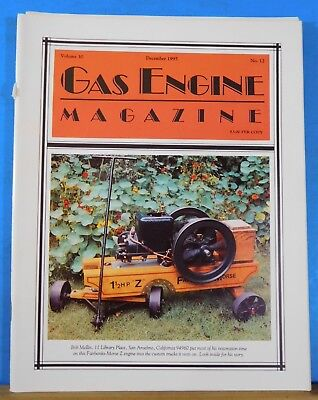Gas Engine Magazine 1995 December Branch 26 Mid-Winter Gas-Up Tractors Built for
