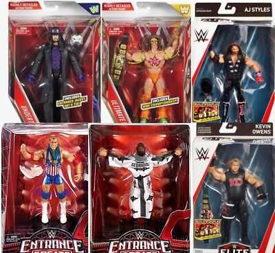 Wwe Wwf Mattel Elite Action Figure Assortment Inc. Roode, Angle, Cena Or Flair..