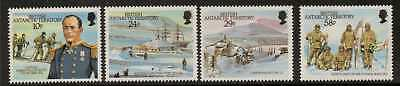 British Antarctic Terr. Sg155/8 1987 Scott's Arrival At South Pole  Mnh