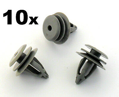 10 X BMW Clips Bordes Plástico para Interior Panel de la Puerta,Embellecedor