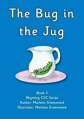 The Bug in the Jug (Red CVC Series) by Greenwood, Marlene Paperback Book The