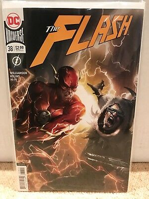 The Flash #38 - Mattina Variant - DC - NM