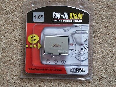 "DELKIN E-film du 1.6"" POP UP SCREEN SHADE LCD SCREEN PROTECTOR"