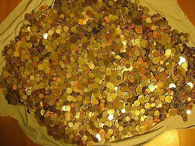 Lot of 23 coins from 23 countries. Best picked from pounds of World Coins.