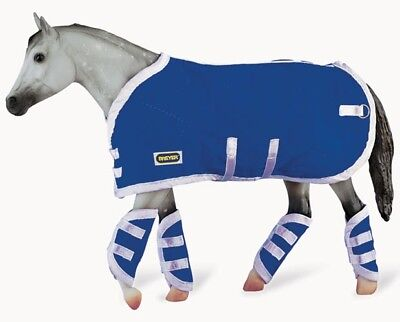 Breyer Horse 3947 Blanket and Boots Blue