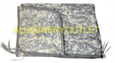 US Military Army ACU Digital Wet Weather PONCHO LINER Woobie Blanket VGC