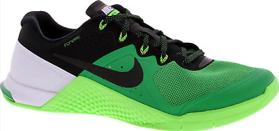 new style 58509 f52c4 Nike Metcon 2 Two Men Green 819899-300 Crossfit Shoes DS 100% AUTHENTIC  METCON