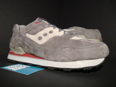 a1ff4fc775f6 2015 Saucony Courageous Shadow 5000 6000 Grey Red White Black S70162-4 New  11