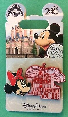 Disney Parks Pin  WDW 2018 Dated Collection Minnie Mouse Walt Disney World Icons