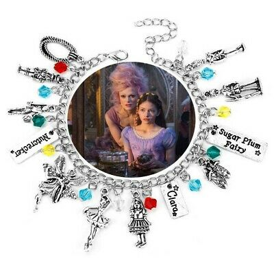 The Nutcracker And The Four Realms Charms Bracelet Sugar Plum Fairy Soldier