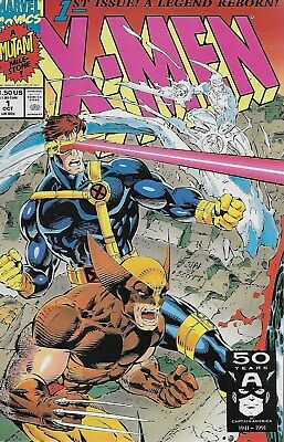 X-Men No.1 / 1991 Wolverine and Cyclops Cover / Chris Claremont & Jim Lee