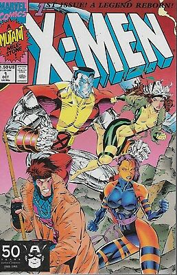 X-Men No.1 / 1991 Colossus and Gambit Cover / Chris Claremont & Jim Lee