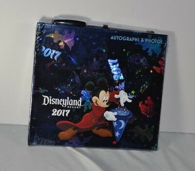 Disney Autograph Photograph Book NEW Disney Park Disneyland with Disney Pen 2017