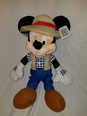 Mickey Mouse plush Doll Disney Parks Adventure outfit Disneyland stuffed toy