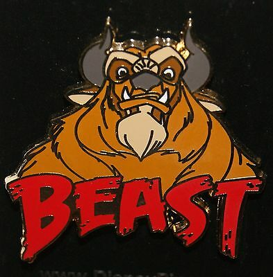 Disney 2016 Beast From Beauty And The Beast Pin New On Original Card