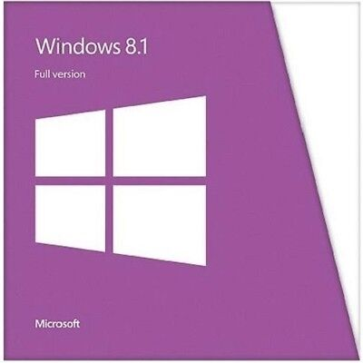 WINDOWS 8.1 Basic/Home 1PC 32/64 BIT GENUINE ACTIVATION KEY + Download Link