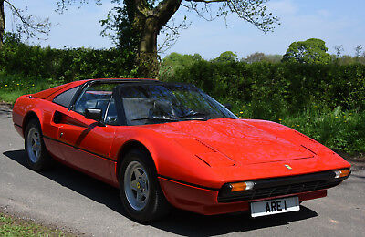 1981 FERRARI 308 GTSi Lhd   1 OWNER 35 YEARS with History from new