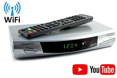 FULL HD Freeview WiFi Receiver Tuner Recorder DIGITAL TV Terrestrial Set Top Box