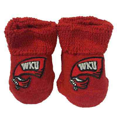 Western Kentucky Hilltoppers Two Feet Ahead Kleinkinder Baby Baby Socken Booties