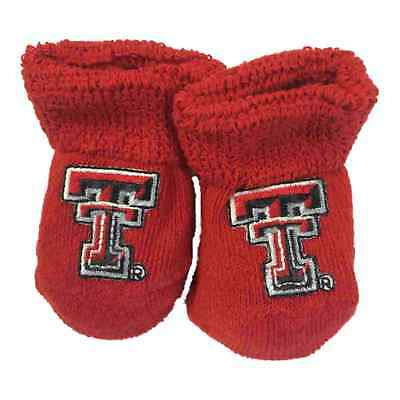 Texas Tech Rot Raiders Two Feet Ahead Kleinkind Baby Neugeborenes Socken Booties