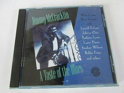 c7fe57118863 A Taste of the Blues by Jimmy McCracklin CD Jul-1994 Bullseye Blues Case  Cracked