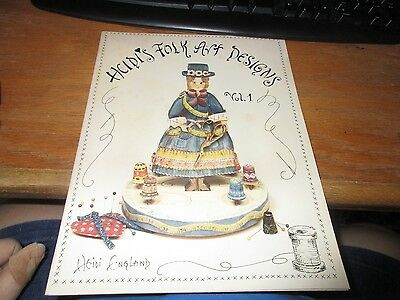 Heidi's Folk Art Designs Vol 1 PB