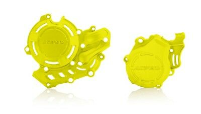 Acerbis X-Power Clutch Ignition Covers Flo Yellow For KTM/Husqvarna 2709764310